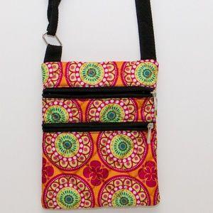 Handbags - Small Bright Flowers Cross Body Purse